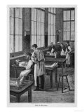 Dissecting Bodies at the School of Medicine in Paris Giclee Print