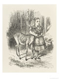 Fawn Alice and the Fawn Giclee Print by John Tenniel