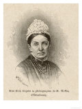 Isabella Lucy Bird English Traveller Lecturer and Writer Giclee Print by H. Thiriat