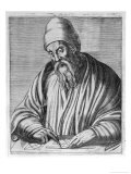 Euclid Mathematician of Alexandria Giclee Print by Andre Thevet