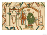 Bayeux Tapestry: King Edward Sends Harold to Confirm to William That He Will Succeed Him Giclee Print