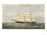 British Sailing Clipper for the China Tea Trade Giclee Print by Josiah Taylor