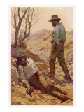 The Death of Burke Giclee Print by W.r. Stott