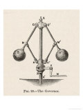 Governor or Fly-Ball Governor Invented by James Watt to Regulate the Supply of Steam Reproduction procédé giclée par Robert H. Thurston