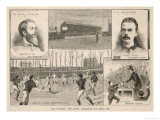 The Final of the Football Association Challenge Cup: The Old Etonians Beaten by Blackburn Olympic Reproduction procédé giclée