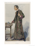 Sherlock Holmes as Played on the London Stage by Actor William Gillette Premium Giclee Print by  Spy (Leslie M. Ward)