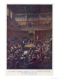 The House of Commons February 13 1893 Giclee Print by Staples