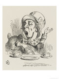 The Hatter Sings Reproduction proc&#233;d&#233; gicl&#233;e par John Tenniel