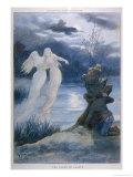 Les Fades de Lagafe, Breton Fairy Folk Giclee Print by Edouard Zier