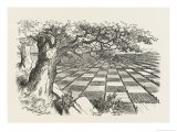 Looking Glass Country Giclee Print by John Tenniel