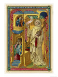 Saint Bernard of Clairvaux French Religious Who Established the Monastery at Clairvaux Giclee Print