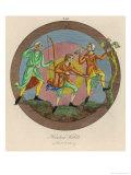 Hunting Habits Giclee Print by Joseph Strutt