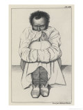 Patient in a Strait-Jacket Giclee Print by Ambroise Tardieu