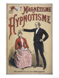 Magnetisme et Hypnotisme, Popular French Manual Giclee Print