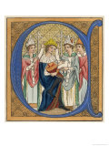 King Edward I Giclee Print by Joseph Strutt