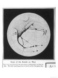 The Supposed Canals Observed and Drawn by the Italian Astronomer Schiaparelli Giclee Print