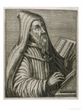 Saint Augustine of Hippo Early Christian Church Father and Philosopher Giclee Print by Andre Thevet