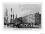 The Goree Warehouses George&#39;s Dock Liverpool Giclee Print by H. Wallis