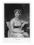 Jane Austen, escritora inglesa Lámina giclée