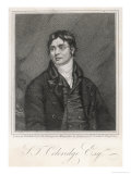 Samuel Taylor Coleridge English Poet and Critic Giclee Print by J. Thomson