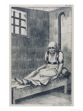 The American Patient Norris in Chains at Bethlehem Hospital London Giclee Print by Ambroise Tardieu