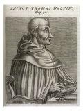 Thomas Aquinas Italian Theologian Giclee Print by Andre Thevet