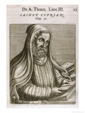 Saint Cyprian Bishop of Carthage Giclee Print by Andre Thevet