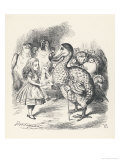 Alice and the Dodo Giclee Print by John Tenniel