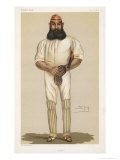 Full Length Illustration of W G Grace Premium Giclee Print by  Spy (Leslie M. Ward)