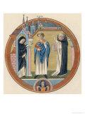 Monastical Habits Giclee Print by Joseph Strutt
