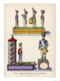 French Music Boxes with Toy German Soldiers Giclee Print