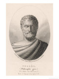 Thales of Miletus Greek Philosopher and Scientist Giclee Print by Ambroise Tardieu