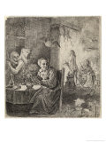 Witches Assisted by Demons Prepare for the Sabbat Giclee Print by David Teniers the Younger