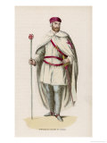 Templar in Campaign Dress Giclee Print by Abbe Thiron
