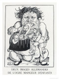 An Ogre Who Eats Children Who Misbehave Giclee Print by Hans Weidlitz