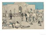 Amritsar Massacre Giclee Print by Eduard Thony