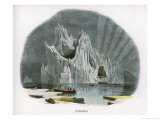 Picturesque Iceberg Giclee Print by J.w. Whimper