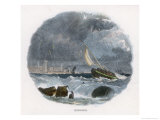 On the Indian Coast Giclee Print by J.w. Whimper