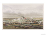 The Hundred Days Battle of Ligny Napoleon Defeats Blucher Giclee Print by T. Yung
