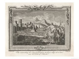 Jerusalem is Besieged by Titus Reproduction proc&#233;d&#233; gicl&#233;e par P. Wray