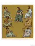 Greek Doctors of the Byzantine Empire Plate 1 of 2 Giclee Print