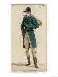 Hunting Dress 1813 Giclee Print