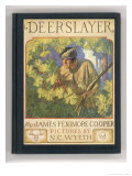 Front Cover of the Deerslayer Giclee Print by Newell Convers Wyeth