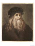 Leonardo Da Vinci Italian Painter Sculptor Architect Engineer and Scientist Giclee Print