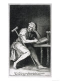 Epictetus Greek Stoic Philosopher Originally a Slave But Freed by His Master Giclee Print