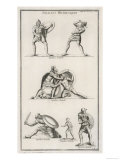 Etruscan Soldiers the Traditional Rivals and Enemies of the Romans Giclee Print