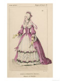 Jeanne-Antoinette Poisson (Marquise de Pompadour), Mistress to Louis XV of France Giclee Print