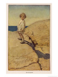 My Shadow by Robert Louis Stevenson Reproduction giclée Premium par Jessie Willcox-Smith