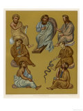 Greek Doctors of the Byzantine Empire Plate 2 of 2 Giclee Print