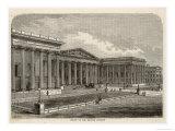 British Museum, 1850 Giclee Print by S. Wain